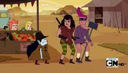 S5e1 Farmworld Marceline and Destiny Gang members