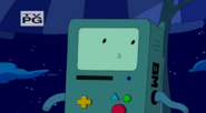 S5 e17 BMO on the roof