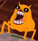 Jake turning into Demon
