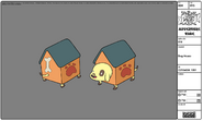 Modelsheet doghouse