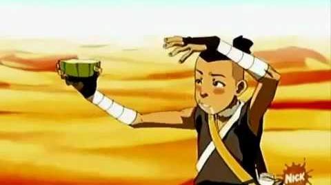 Avatar The Last Airbender - Sokka Cactus Juice Scene