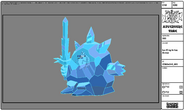 Modelsheet Ice King in Ice Armor