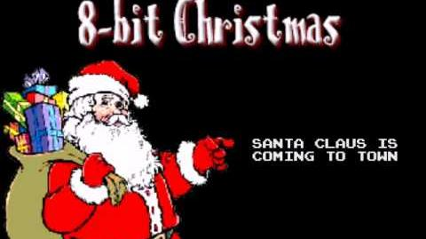 Santa Claus Is Coming To Town - Christmas in 8 bit