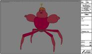 Modelsheet crabprincess