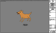 Modelsheet dog
