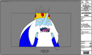 Modelsheet iceking withtonguestickingout - specialpose