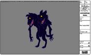 Modelsheet twoheadedwolf