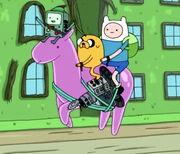 S6E8 Escape Jelly Horse