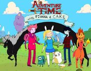 Fionna and cake cast