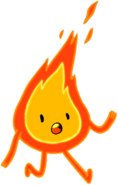 Flame Person 10