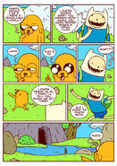 Adventure time comic page 12