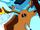 Singing deer head