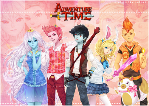 Adventure time gender bend anime=1-default