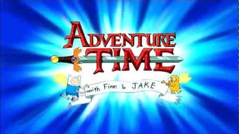 Adventure Time - Japanese OP アドベンチャータイム - 日本のオープニングテーマ