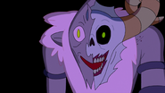 S4e26 face - half Lich half Billy
