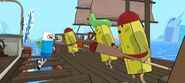 Adventure Time Pirates of the Enchiridion Fight scene