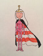Come Along with Me original costume sketches for Princess Bubblegum by Tom Herpich (10)