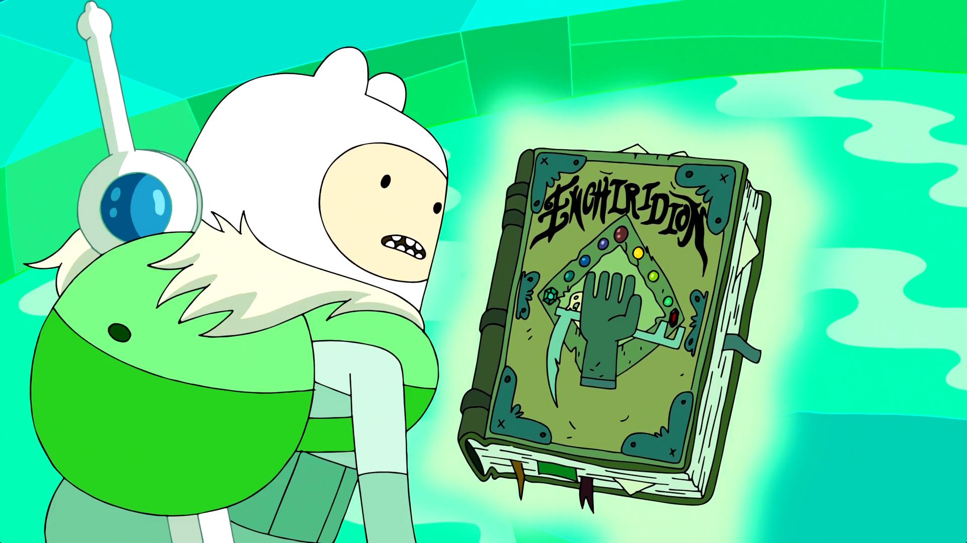 the enchiridion book adventure time wiki fandom