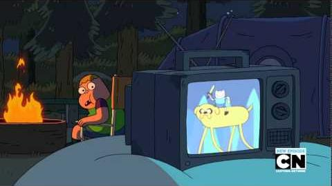 Adventure Time cameo in Clarence