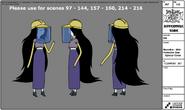 S7e36 Marceline modelsheet