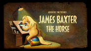 Titlecard S5E19 jamesbaxterthehorse