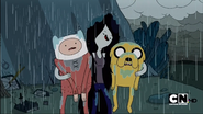 S1e12 Marceline Kicking Finn and Jake out