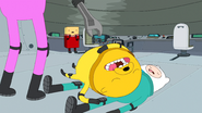 S5e42 Finn and Jake knocked out