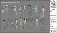 S8E10 Model Sheet Vr Human Line Up