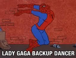 Lady gaga spidermann