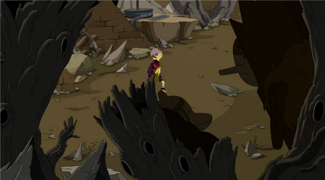 File:S5e21 Braco walking by dormant monsters.png