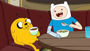 S9e2 Finn and Jake eating 2