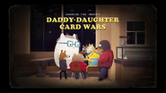Daddy Daughter Card Wars Title Card