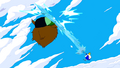 S5e22 Ice King hitting Party God with ice sword.png