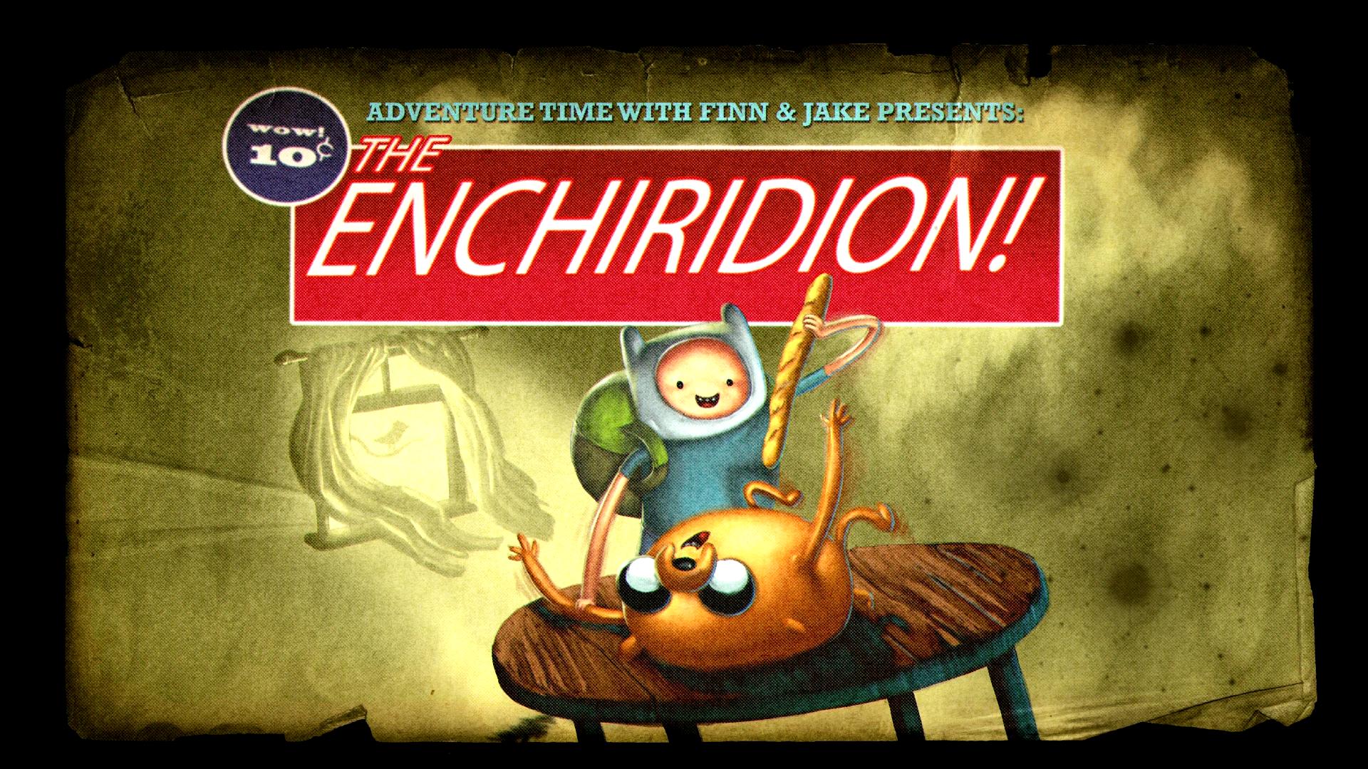 The Enchiridion Adventure Time Wiki Fandom Powered By Wikia
