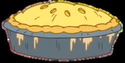 Tree Trunks' Apple Pie