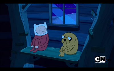Adventure Time S2E02 The Eyes Hanging Figure