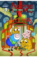 Adventure Time 9 cover A