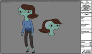 Modelsheet peacemaster's daughter