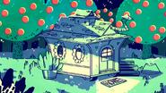 S7e29 Tree Trunks house