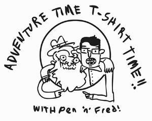 Adventure Time Tshirt Time