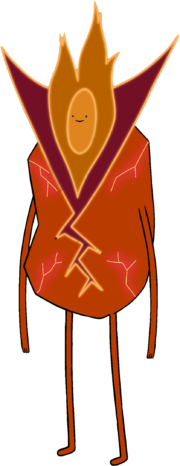 Flame Person 12