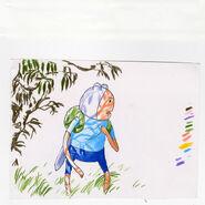 Finn artwork by writer and storyboard artist Sam Alden