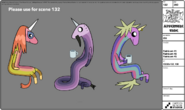 Rainicorns 1-3 modelsheet