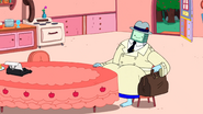 S10e2 BMO and Ice king sitting at the table