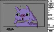 Modelsheet pigsurprised - specialpose