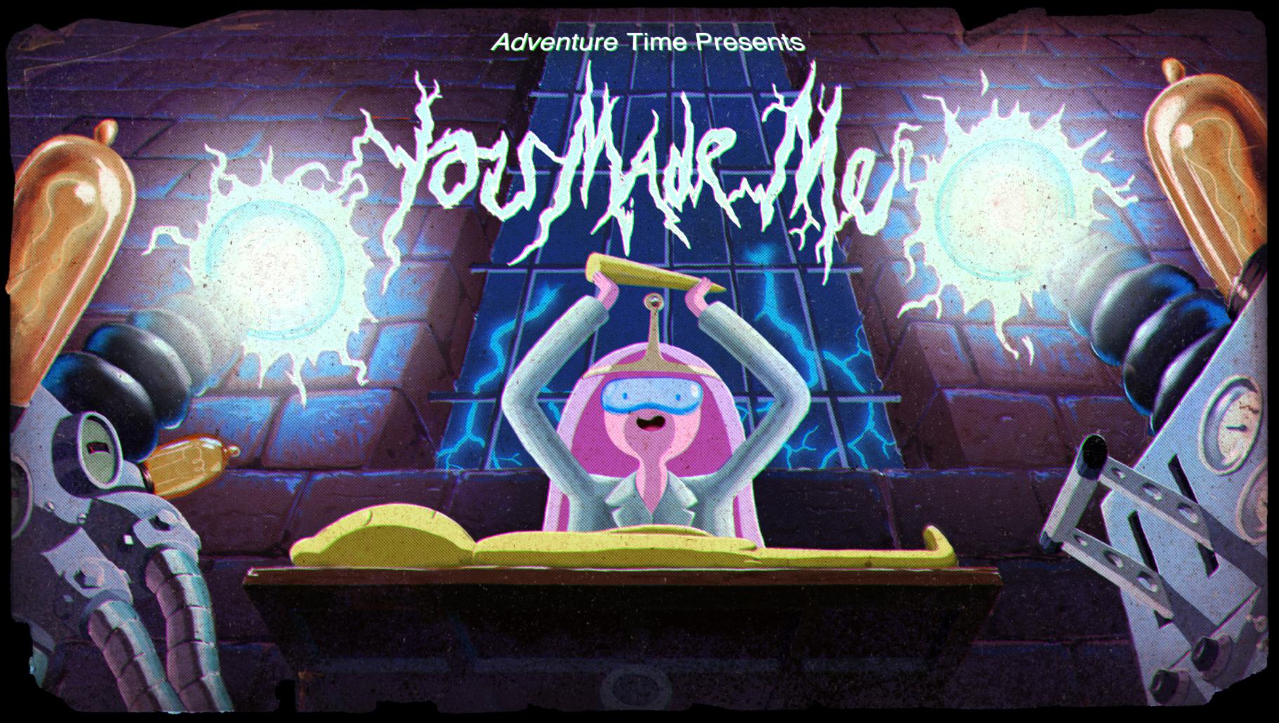 image - titlecard s4e20 youmademe! | adventure time wiki