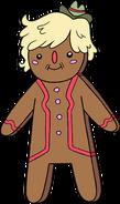 Gingerbread pat