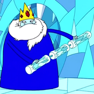 S2e1 ice king triple nunchaku