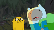 S4e23 Finn and Jake surprised
