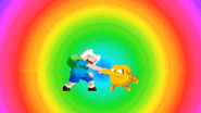 D&L Intro Finn and Jake fist bump